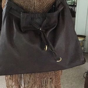 Gorgeous Sigrid Olson brown leather hobo bag